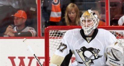 Penguins' Zatkoff shutout.